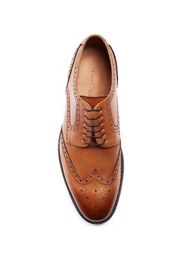 Hemington El Yapımı Taba Rengi Klasik Deri Ayakkabı Taba